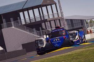 #9 Panis Racing Triple A Oreca 07 LMP2: Olivier Panis, Aurelien Panis, Adam Pinczes, Nuno Pinto