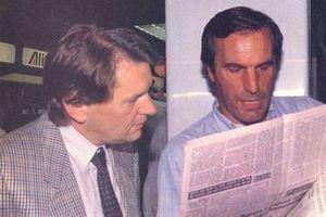 John Barnard con Giorgio Piola