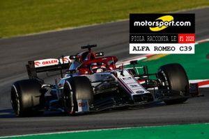 Copertina Piola racconta le F1 2020, Alfa Romeo C39