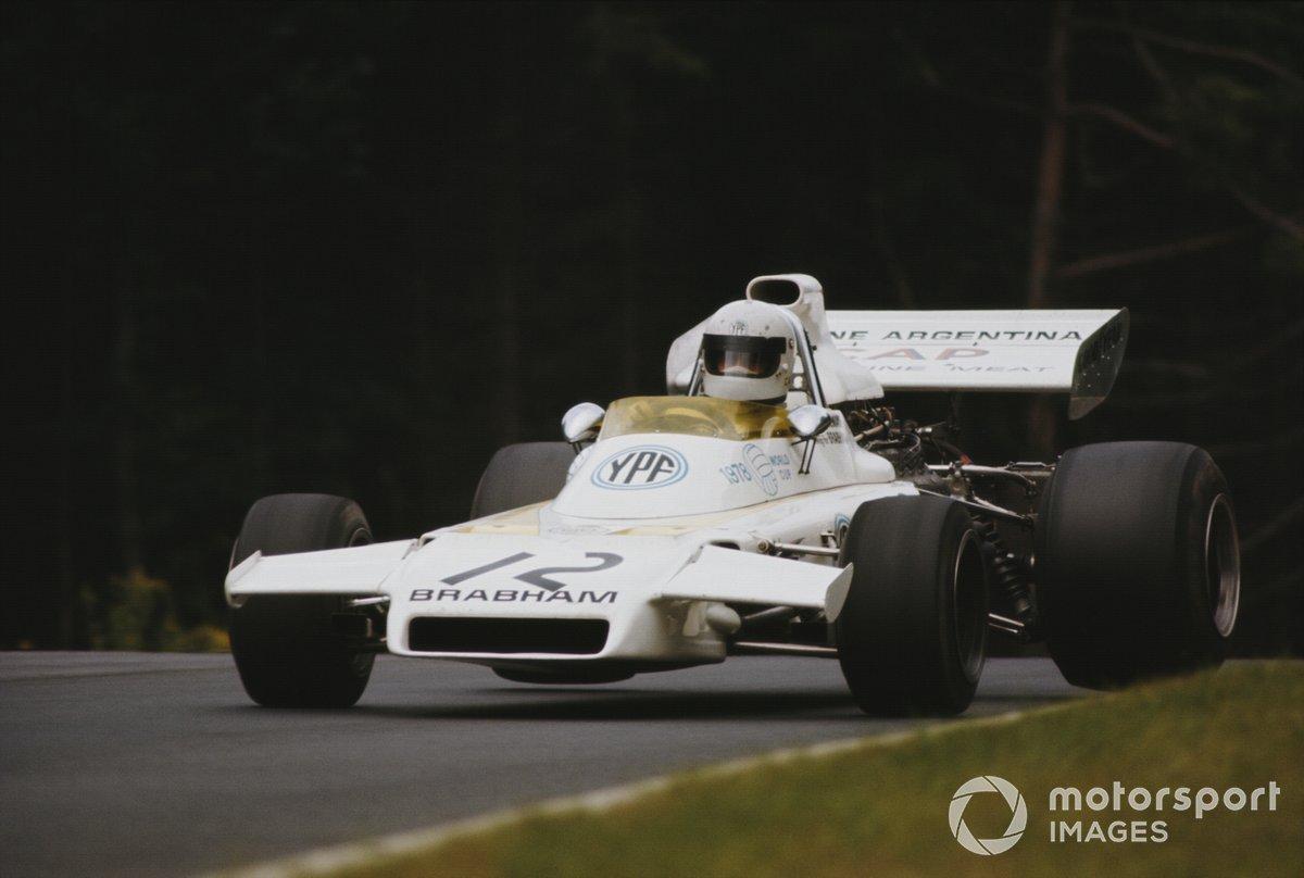 Carlos Reutemann, Brabham BT37 Ford, during practice