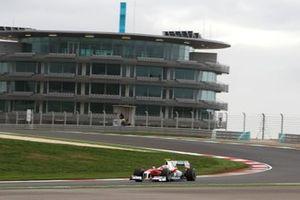 Kamui Kobayashi, Toyota TF109, ai test di gennaio a Portimano 2009