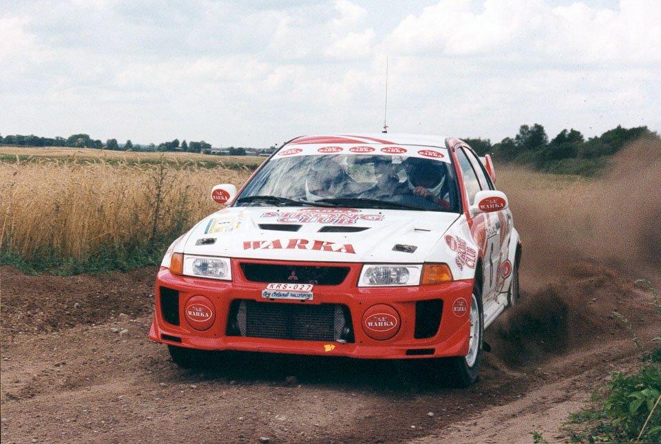 Robert Herba, Jacek Rathe, Mitsubishi Lancer Evo V