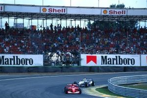 Michael Schumacher, Ferrari F1 2001, Juan Pablo Montoya, BMW Williams FW23