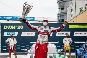 Podium: Race winner Nico Müller, Audi Sport Team Abt Sportsline