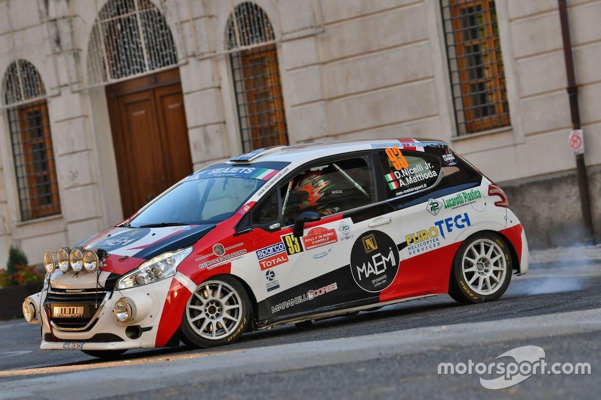 Davide Nicelli Jr., Alessandro Mattioda, MM MOTORSPORT, Peugeot 208 R2