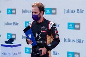 Jean-Eric Vergne, DS Techeetah con il pole position award