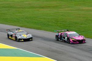 #4 Corvette Racing Corvette C8.R, GTLM: Oliver Gavin, Tommy Milner, #86 Meyer Shank Racing w/Curb-Agajanian Acura NSX GT3, GTD: Mario Farnbacher, Matt McMurry