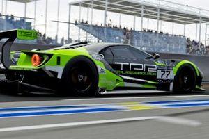Shaun Arnold and Igor Rodrigues, Le Mans eSport Series screenshot