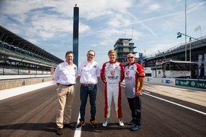 Spencer Pigot, Citrone Buhl Autosport with RLL Honda, mit Robbie Buhl, Nick Citrone, Robert Citrone