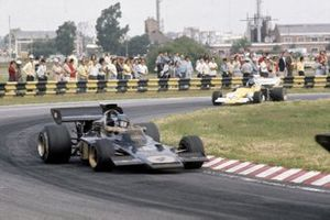 Ronnie Peterson, Lotus 72D, Mike Beuttler, March 721G