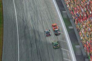Scott McLaughlin, DJR Team Penske leads