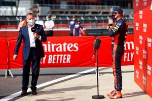 Martin Brundle, Sky TV, intervista Max Verstappen, Red Bull Racing