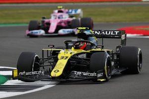 Esteban Ocon, Renault F1 Team R.S.20, Lance Stroll, Racing Point RP20