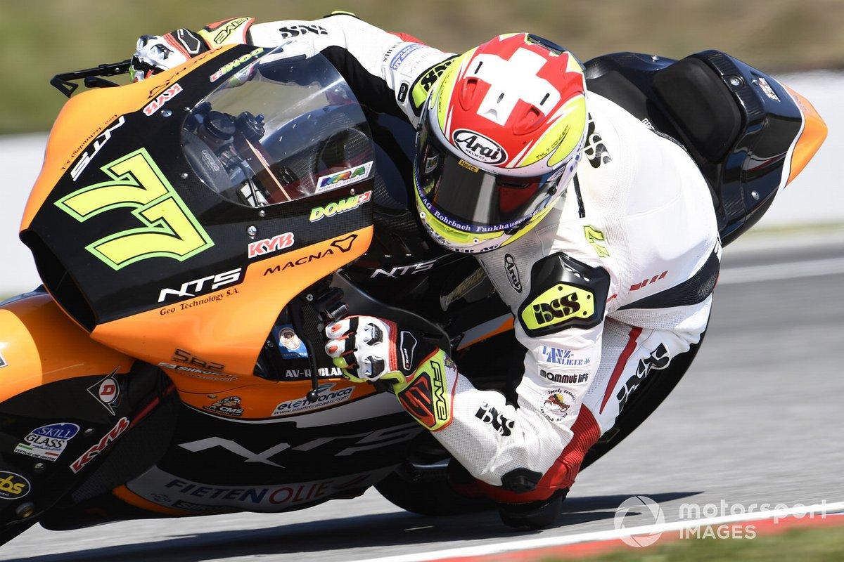 Dominique Aegerter, NTS RW Racing GP