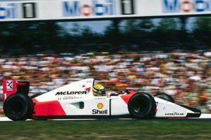 Ayrton Senna, McLaren MP4-7A Honda