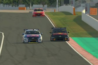 Shane van Gisbergen, Triple Eight Race Engineering leads Max Verstappen