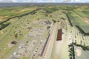 Watkins Glen track aerial view