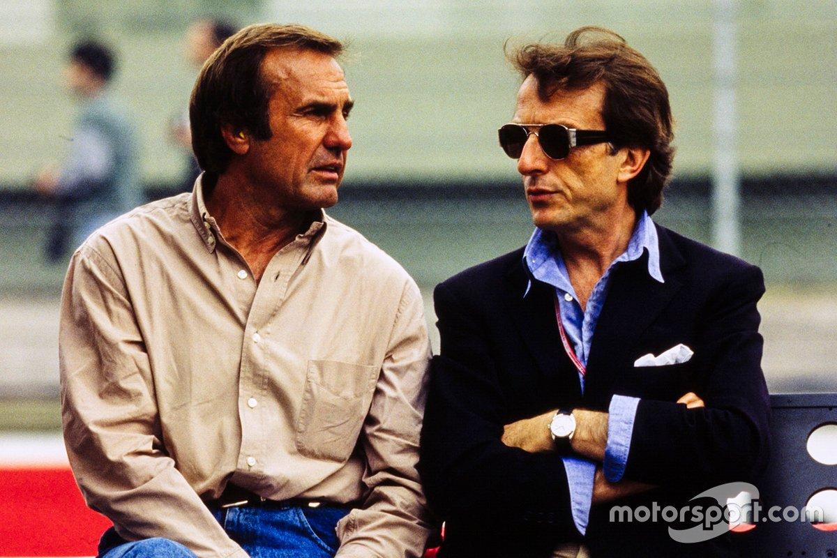 Carlos Reutemann y Luca di Montezemolo