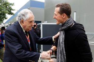 Jack Brabham and Michael Schumacher, Mercedes