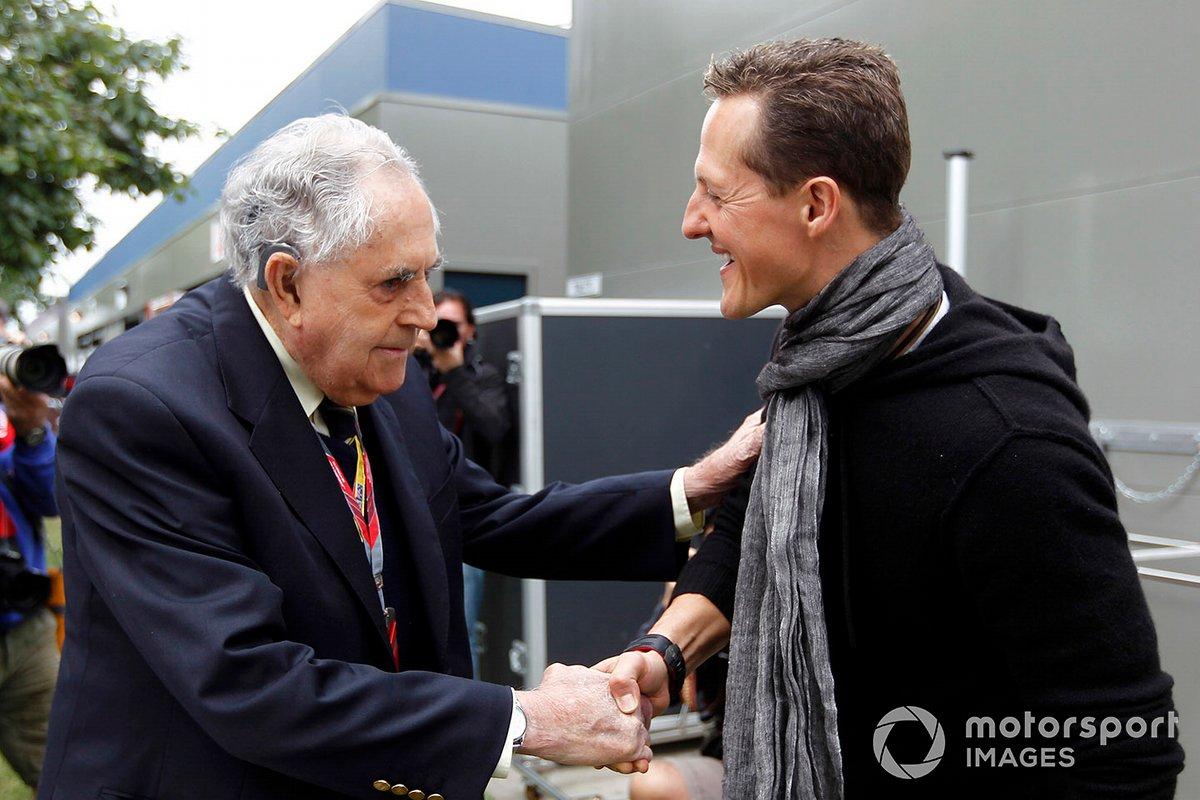 Jack Brabham y Michael Schumacher, Mercedes