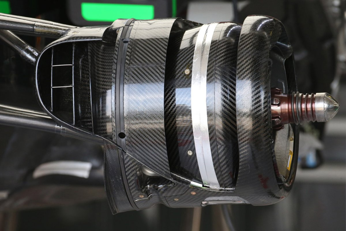 Haas VF-20 brake duct detail