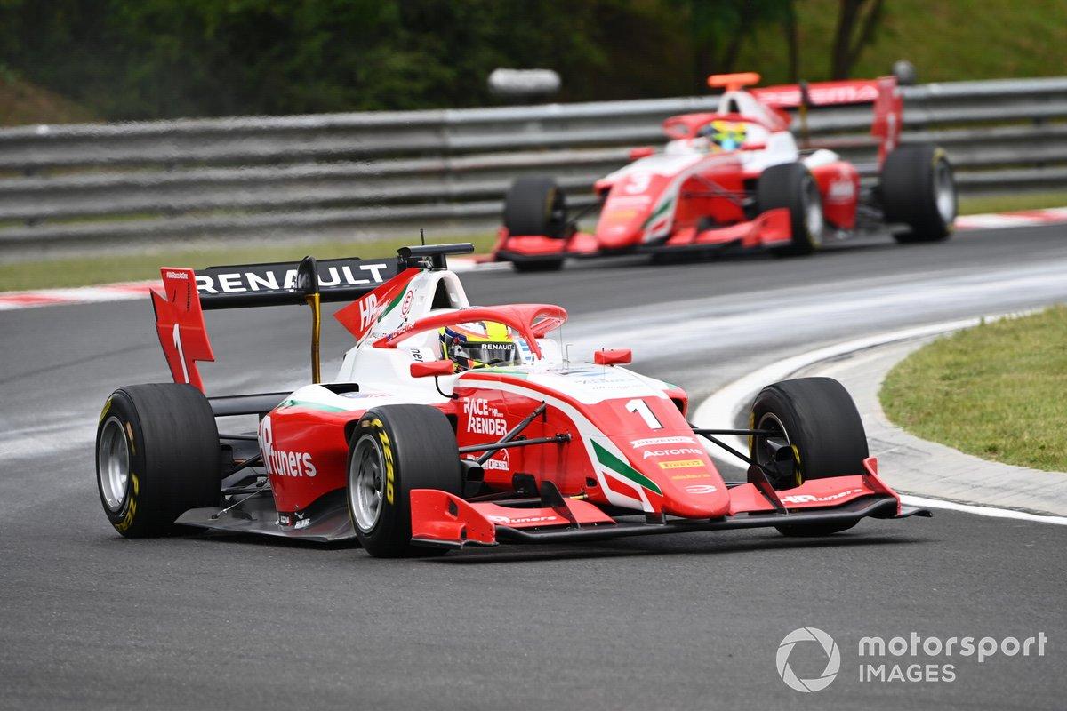 Oscar Piastri, Prema Racing y Logan Sargeant, Prema Racing