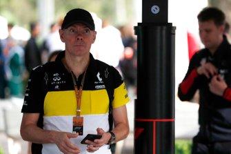 Alan Permane, directeur sportif Renault Sport F1 Team