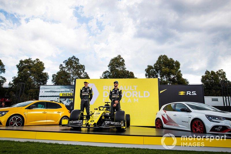 Esteban Ocon, Renault F1 e Daniel Ricciardo, Renault F1 con la Renault F1 Team R.S.20