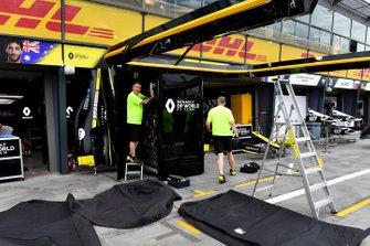 Renault-personeel pakt in