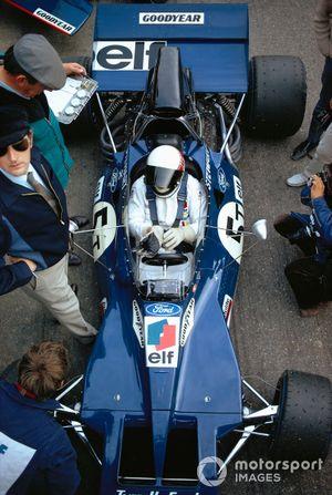 Jackie Stewart, Tyrrell 003 Ford en teambaas Ken Tyrrell