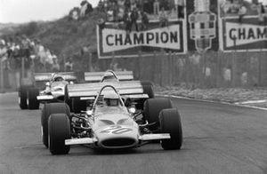 Peter Gethin, McLaren M14A, Jack Brabham, Brabham BT33, John Surtees, Team Surtees, McLaren M7C