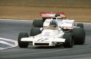 Graham Hill, Brabham BT37 Ford leads Nanni Galli, Tecno PA123