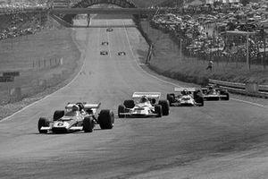 Mario Andretti, Ferrari 312B, Pedro Rodriguez, BRM P160, Jo Siffert, BRM P153, Jackie Stewart, Tyrrell 001