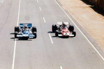 Jackie Stewart, Tyrrell 001 Ford, Jacky Ickx, Ferrari 312B