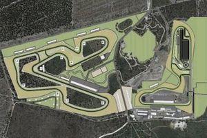 План новой версии автодрома «Уоннеру Рейсвей»