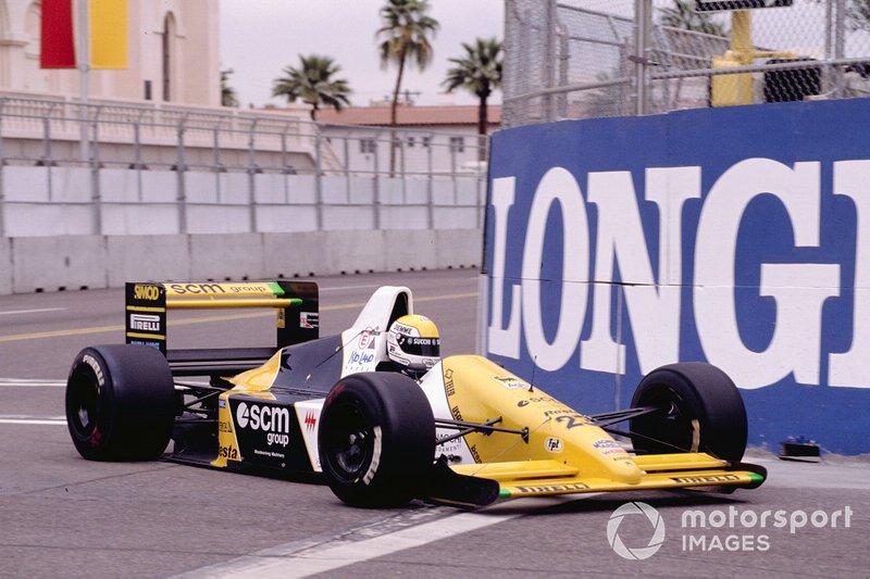 Pierluigi Martini - 8 abandonos en la primera vuelta