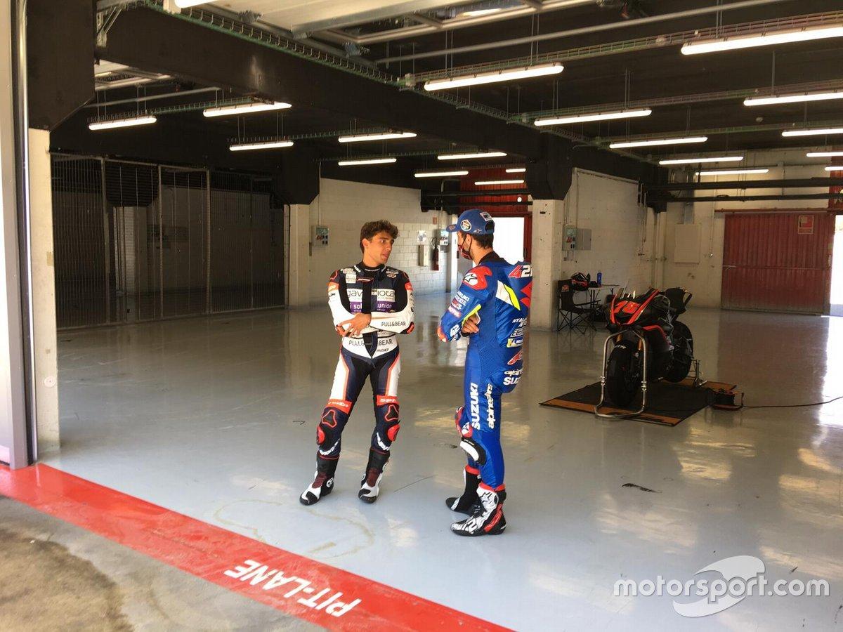 Alex Rins y Albert Arenas