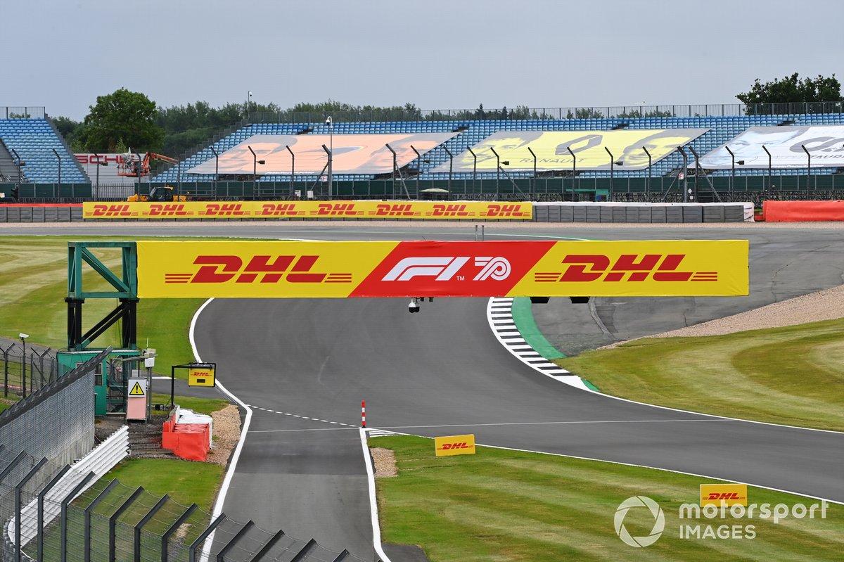Anuncio de DHL y F1 70º aniversario