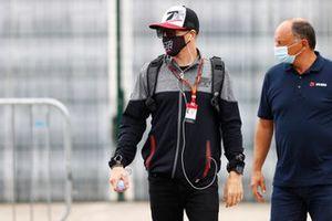 Kimi Raikkonen, Alfa Romeo et Frederic Vasseur, Team Principal, Alfa Romeo Racing