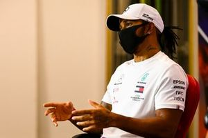 Lewis Hamilton, Mercedes AMG F1 in the press conference