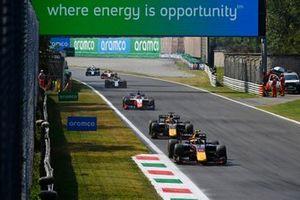 Juri Vips, Hitech GrPrix, Liam Lawson, Hitech GrPrix, Robert Shwartzman, Prema Racing