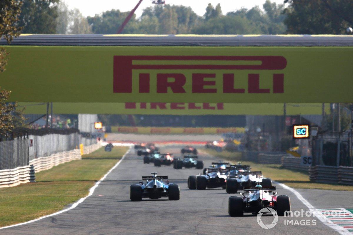 George Russell, Williams FW43B, Robert Kubica, Alfa Romeo Racing C41