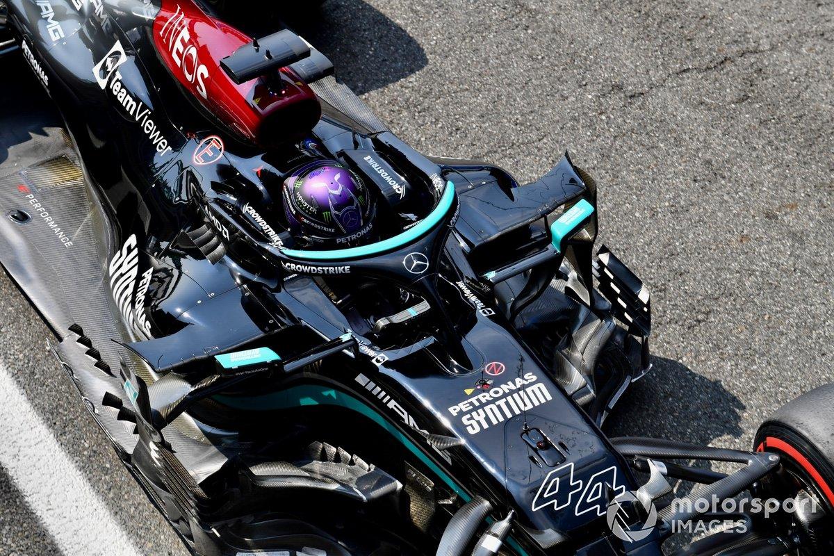 Lewis Hamilton Mercedes W12