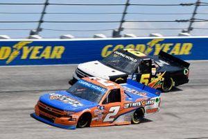 Sheldon Creed, GMS Racing, Chevrolet Silverado Liftkits4less.com and Norm Benning, Norm Benning Racing, Chevrolet Silverado MDF A Sign Co