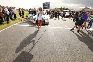 Aiden Moffat, Laser Tools Racing Infiniti Q50 Grid Girl