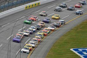 Justin Haley, Kaulig Racing, Chevrolet Camaro LeafFilter Gutter Protection