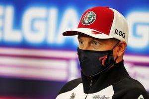 Kimi Raikkonen, Alfa Romeo Racing, in the press conference