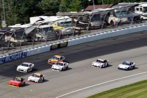 Justin Allgaier, JR Motorsports, Chevrolet Camaro BRANDT and A.J. Allmendinger, Kaulig Racing, Chevrolet Camaro RAMCO Specialties Inc.