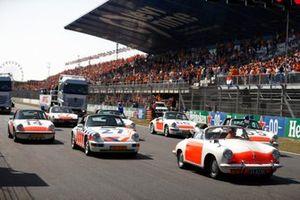 Porsche demonstratie parade