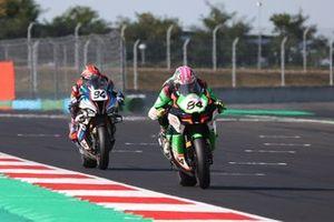 Loris Cresson, TPR Team Pedercini Racing, Jonas Folger, Bonovo MGM Racing